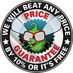 We will beat any price by 10% or it is free