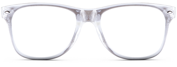 Transparent Clear Glasses Frame : Choose Your Frame Style X