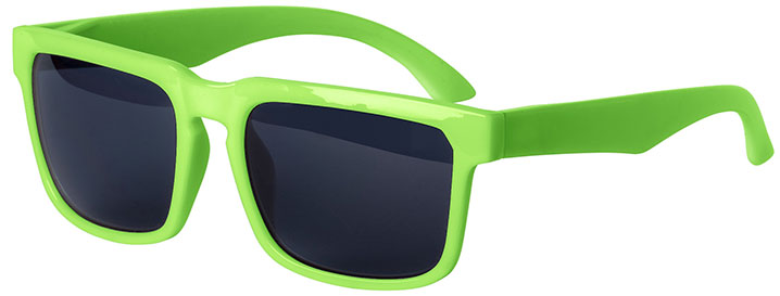 Neon Green Bold Sunglasses