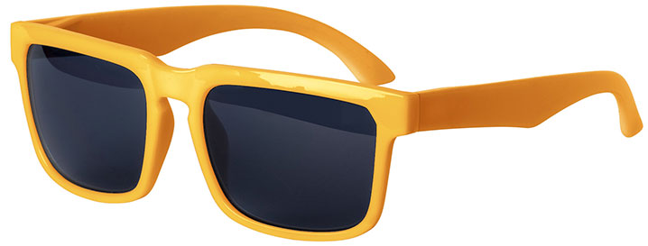 Orange Bold Sunglasses