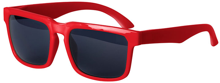 Red Bold Sunglasses