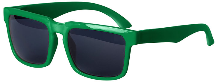 Kelly Green Bold Sunglasses