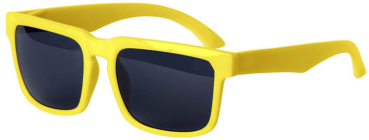 Yellow Bold Sunglasses