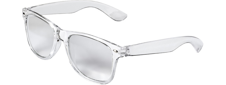 Retro Clear Lenses style Transparent