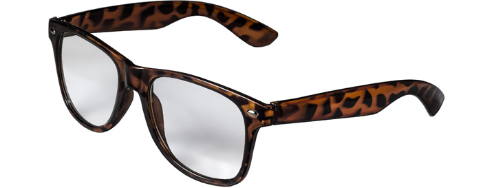 Retro Clear Lenses style Tiger