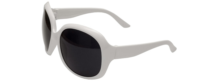 White Jackie Sunglasses