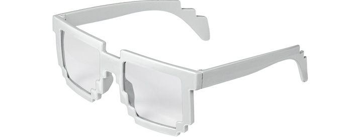 White Pixel Clear Lenses