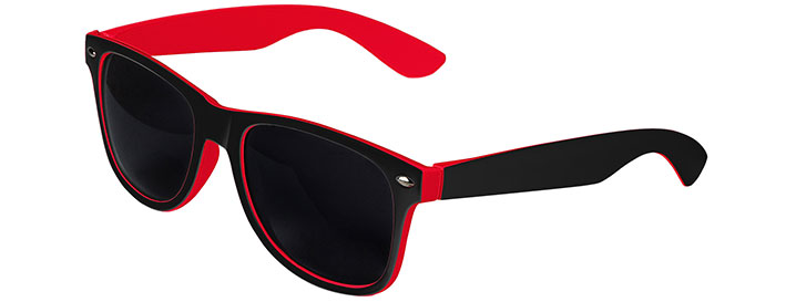 Black / Red Retro In&Out Sunglasses