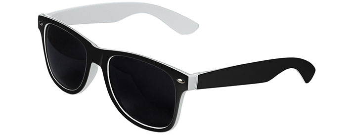 Retro In&Out Sunglasses style Black / White