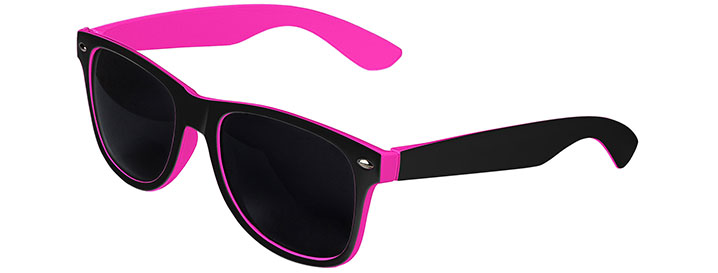 Black / Pink Retro In&Out Sunglasses