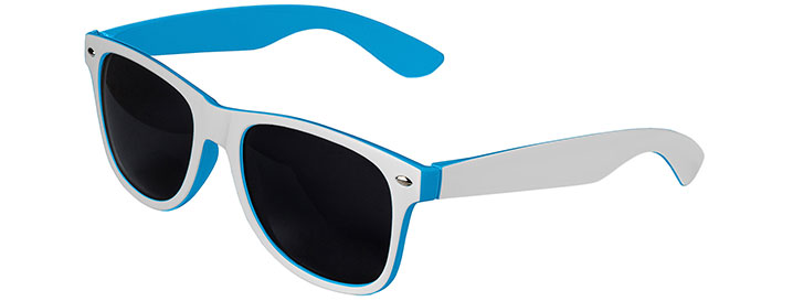 Retro In&Out Sunglasses style White / Blue