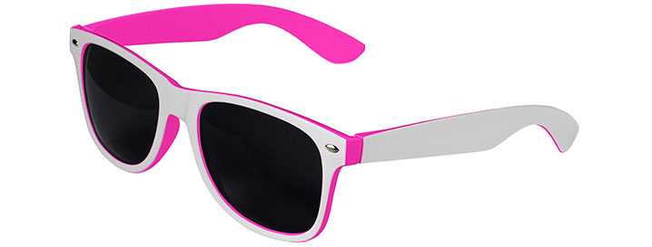 White / Pink Retro In&Out Sunglasses