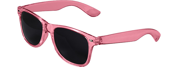 Retro Transparent Sunglasses style Transparent Pink