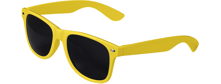 Retro Sunglasses style Yellow