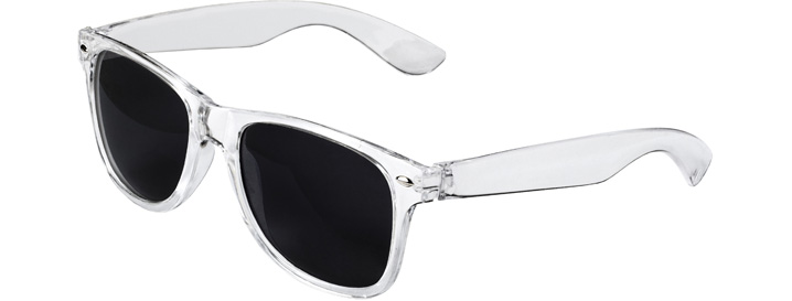 Retro Sunglasses style Transparent
