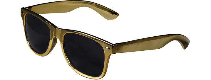 Retro Sunglasses style Gold