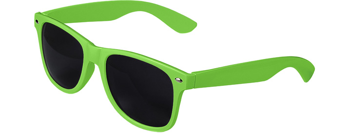 Retro Sunglasses style Neon Green