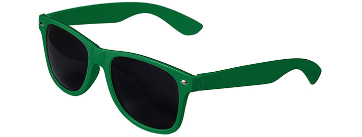 Retro Sunglasses style Kelly Green