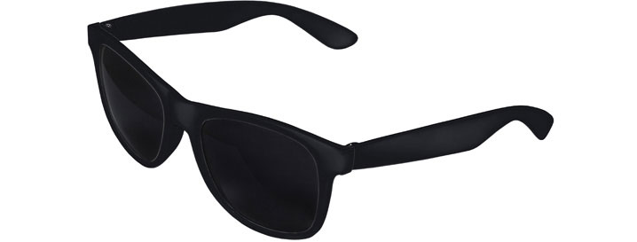 Black Front - Black Retro 2 Tone Sunglasses
