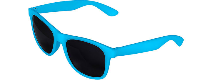 Blue Front - Blue Retro 2 Tone Sunglasses