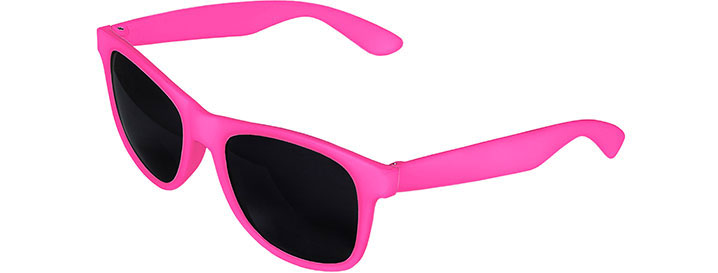 Pink Front - Pink Retro 2 Tone Sunglasses