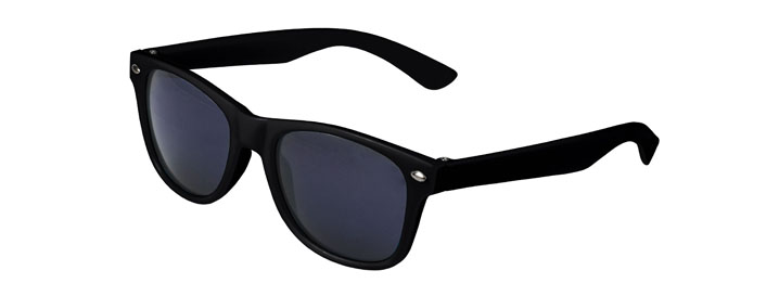 Black Retro Kids Sunglasses