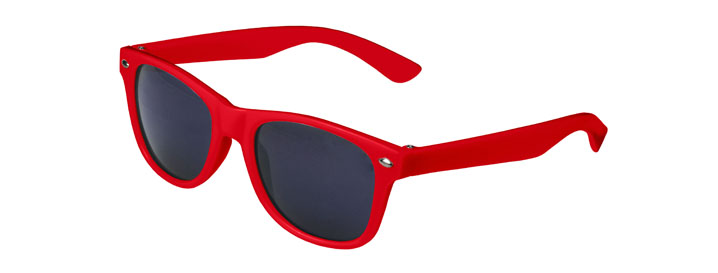 Red Retro Kids Sunglasses