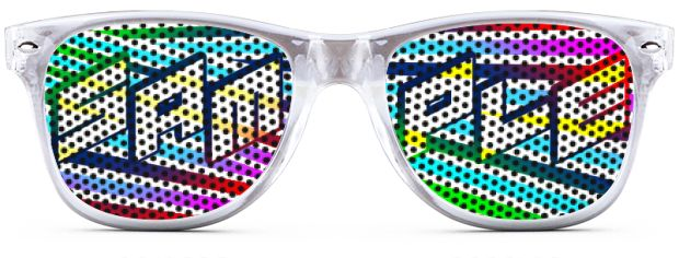 Retro Logo Lenses® Tinted Lenses style Transparent