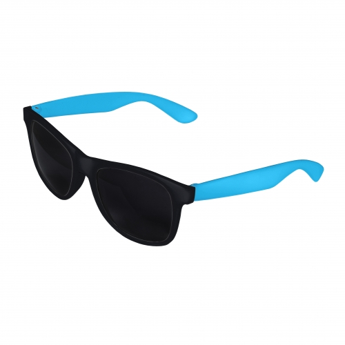 Black Front - Blue Retro 2 Tone Sunglasses Blank
