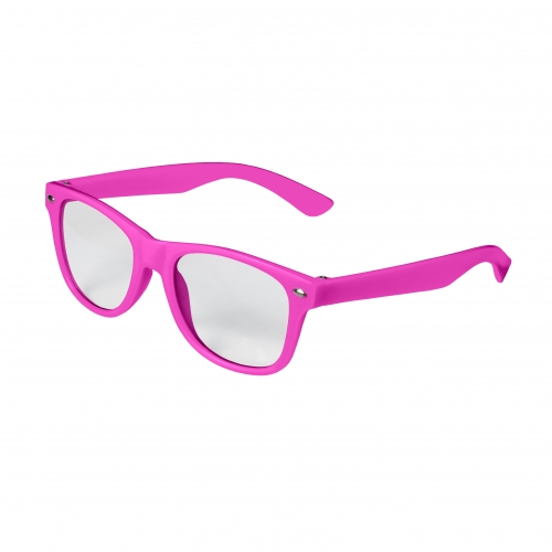 Pink Kid Retro Clear Lenses Blank