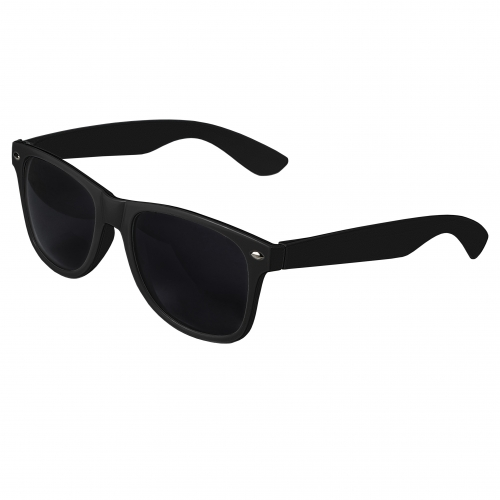 Black Retro Sunglasses Blank