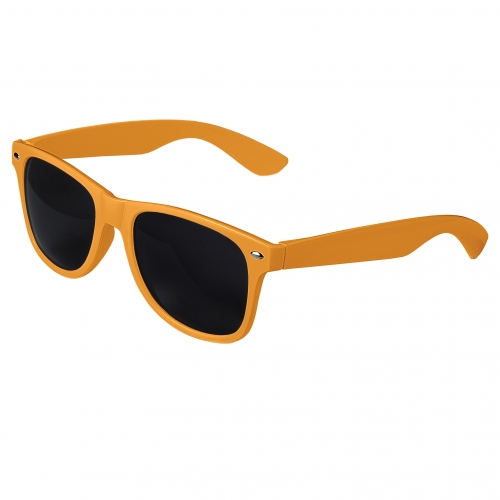 Orange Retro Sunglasses Blank